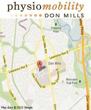 Physiomobility shops at don mills